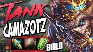 Smite: Tank Camazotz Build - THIS BUILD IS DISGUSTING ON CAMAZOTZ!