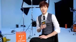 "Lee Min Ho for Jeju Air - ""Free Travel Story"" 16.03.2014"