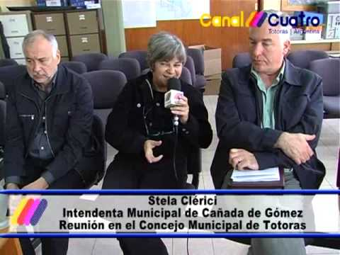 STELA CLERICI Y HORACIO CARNEVALLI CONVOCADOS POR EL CONCEJO DE TOTORAS PARTE 3