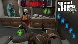 GTA 5 Crips & Bloods Part 4 [HD]