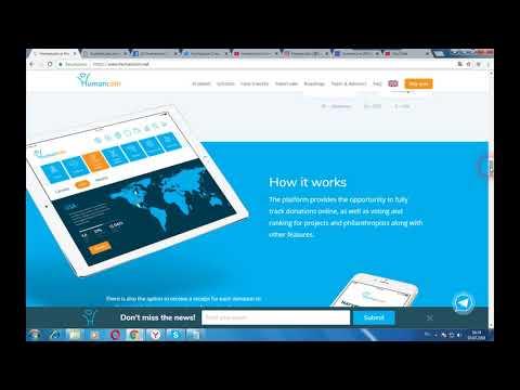 HUMANCOIN - револлюционная платформа объединяющая розничные торговли электронной коммерцией
