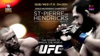 UFC 167: GSP vs. Hendricks