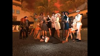 A trip to the movie Set ☞ CASABLANCA ☜ in Second Life