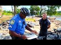 Harassed by Police for Cleaning up the River.... (