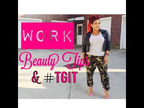 Youtube   BEAUTY TIPS   #TGIT- My workday & TV show reviews