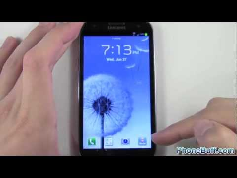 How To Change Lock Screen Shortcuts On Samsung Galaxy S3