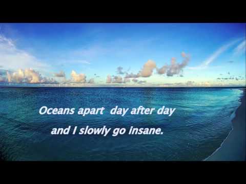Right Here Waiting-richard Marx . With Lyrics(piano) video