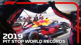 World Record F1 Pit Stops | Red Bull Racing Register The Fastest Pit Stop Three Times!