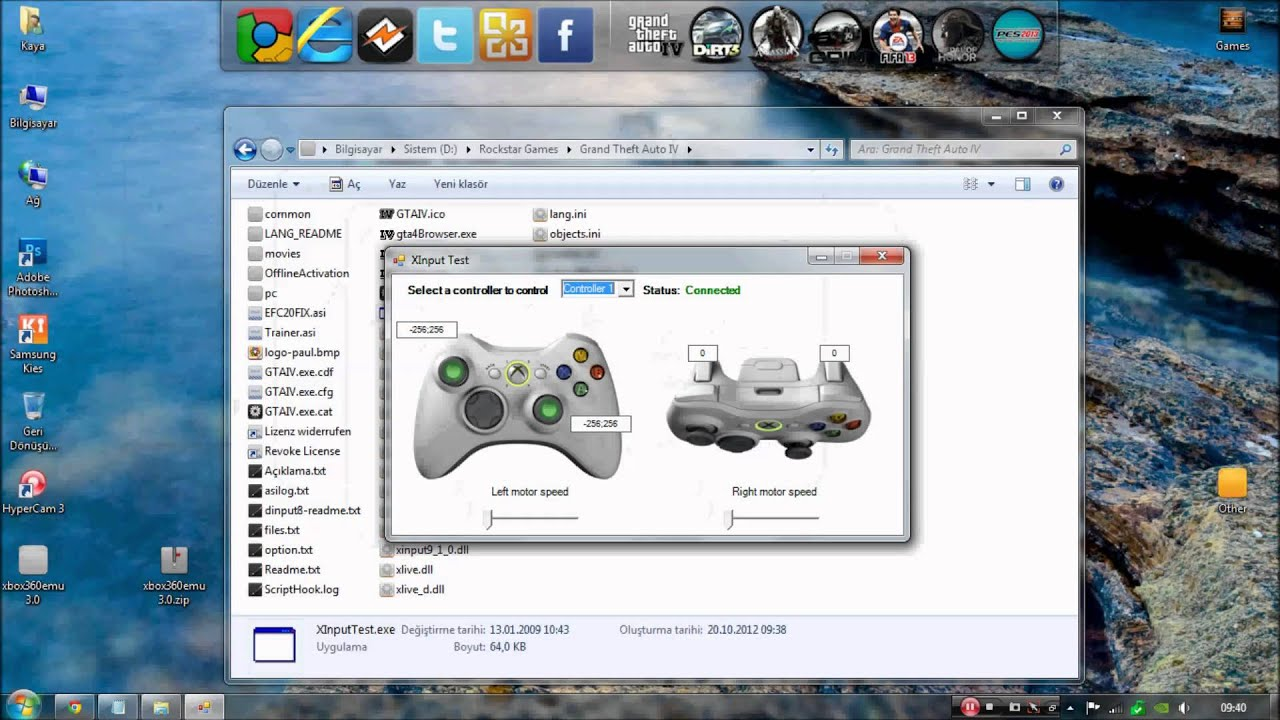 how to make a ps3 controller emulate a 360 controller