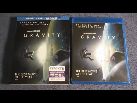 Gravity Blu-Ray Unboxing Review