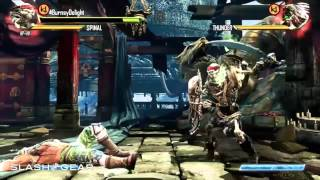 Killer Instinct gameplay on Xbox One with Spinal