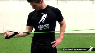 KB Powerbands Upper Body Resistance Bands