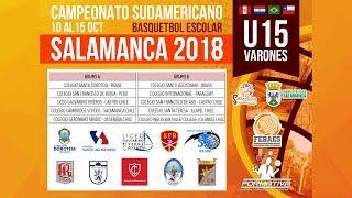 Galvarino Riveros vs Santo Agostinho - Semifinal 1
