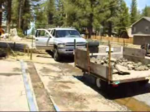 LTEC Trench Driveway Drain Installation - How to Install Driveway Drains Grates Systems
