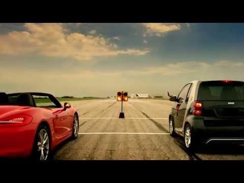 smart electric drive drag race