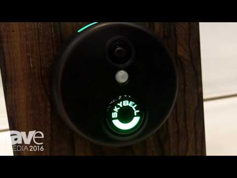 CEDIA 2016: Skybell Shows Skybell HD, a Home Security Video Doorbell