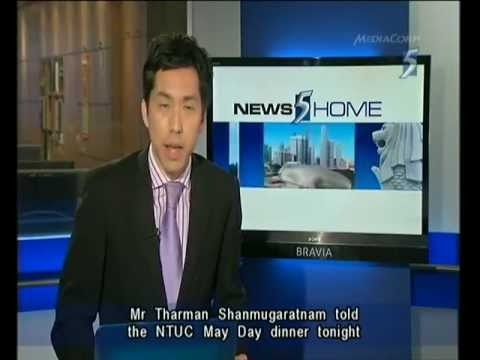Singapore Channel 5 News 9.30PM @ 29-04-2012