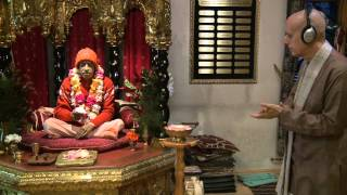 2014.11.01. Deities Greeting, Guru Puja HG Sankarshan Das Adhikari, Tallinn Estonia