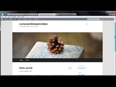 TUTORIAL DE WORDPRESS - COMO CREAR UNA PAGINA WEB O BLOG