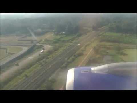 Landing at Cochin (COK) on IndiGo A320 VT-IED