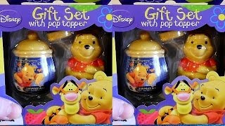 3D VIDEO: Winnie the Pooh Gift Set with Cookie #2 Unboxing Surprise Eggs & Toys