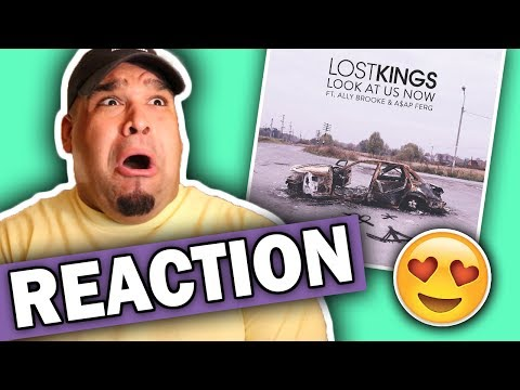 Lost Kings ft. Ally Brooke & A$AP FERG - Look At Us Now [REACTION]
