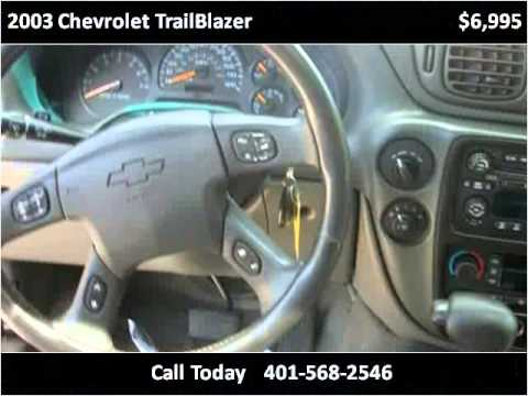 2003 Chevrolet TrailBlazer Used Cars Chepachet RI
