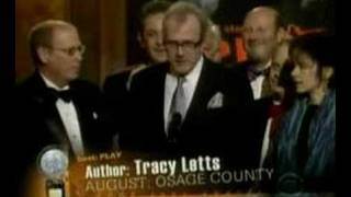 August: Osage County - Tracy Letts' Tony Award Speech