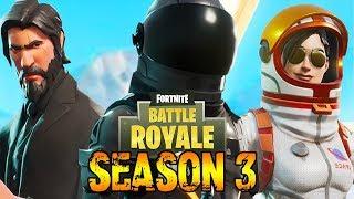 FORTNITE SEASON 3 - NEW DEAGLE GAMEPLAY, NEW SKINS, NEW ITEMS, & MORE!!! (Fortnite: Battle Royale)
