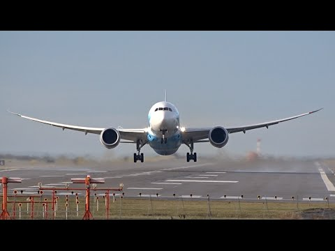 Plane Spotting Dreamliners (1080HD) | Boeing 787-8 Dreamliner | Crosswind Landings Channel |