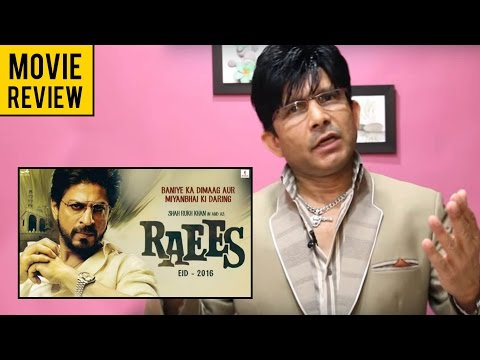 Raees   Movie Review by KRK   KRK Live   Bollywood Review   Latest Movie Reviews