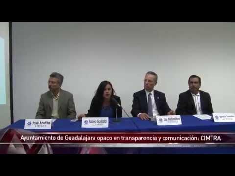 Ayuntamiento de Guadalajara opaco en transparencia y comunicación: CIMTRA