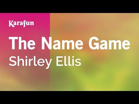 Karaoke The Name Game - Shirley Ellis *