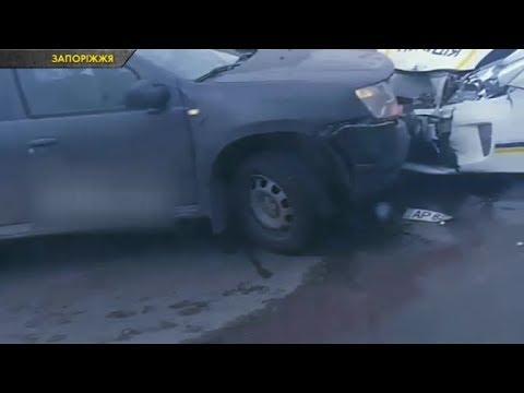 Аварії за участі спецтранспорту на Київщині, Хмельниччині та Запоріжжі