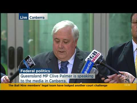 Palmer United - the truth about Australia's financial position exposed