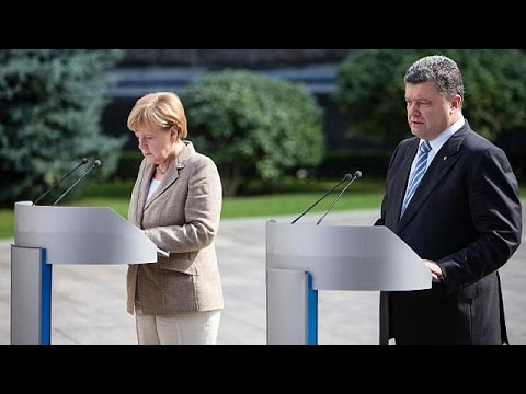 Merkel and Poroshenko call for