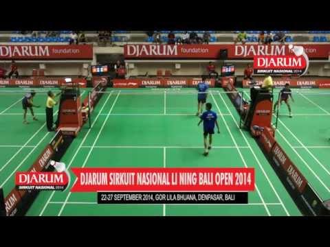 M. Lutfi Erlangga (PB. MUTIARA CARDINAL) VS Keinth Chia (PB. EXIST JAKARTA)
