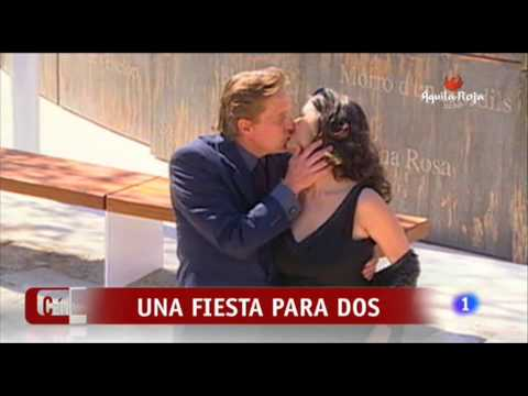 Michael Douglas y Catherine Zeta Jones, una Fiesta para Dos