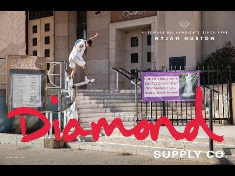 Nyjah Huston For Diamond Supply Co