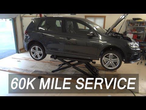 VW / Audi 2.0T 60K Service Maintenance DIY  [MK6 Golf R TSI]