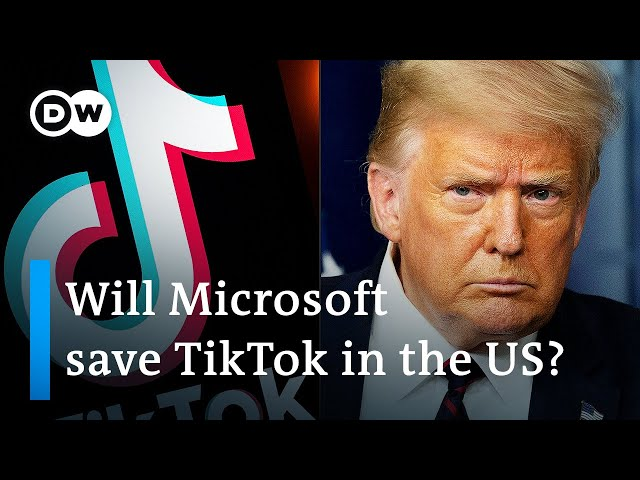 Why does Trump want to ban China39s TikTok app in the US?  DW News