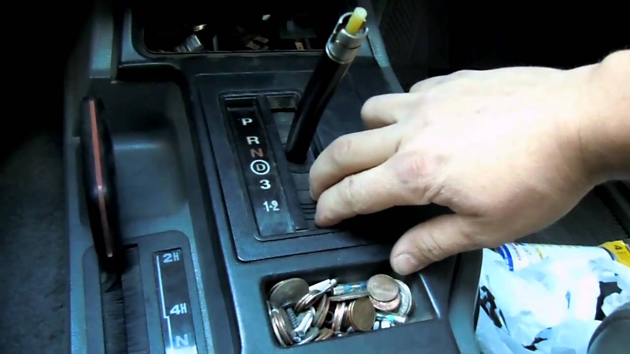 Cherokee For Less >> Replacing gear indicator plate - YouTube