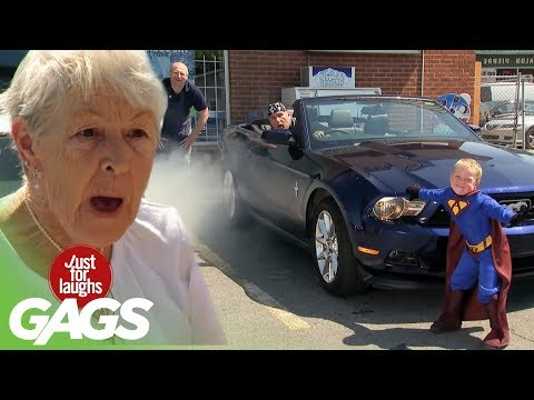 Little Superman Real Powers Prank - Kis superman