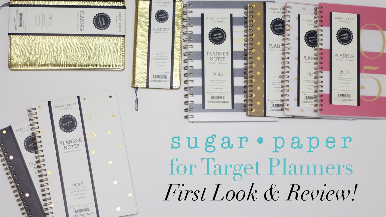 Target Planner 2015 Paper For Target Planners