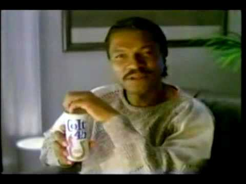 Vintage Colt 45 Beer Commercial With Billy Dee Williams