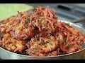 ചോറ് കൊണ്ട് രുചികരമായ കറുമുറാ ഉള്ളി വട || leftover rice Onion  Vada