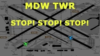 [REAL ATC] Delta and Southwest VERY CLOSE CALL on takeoff