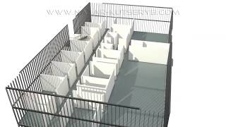 3D Animation: Building construction