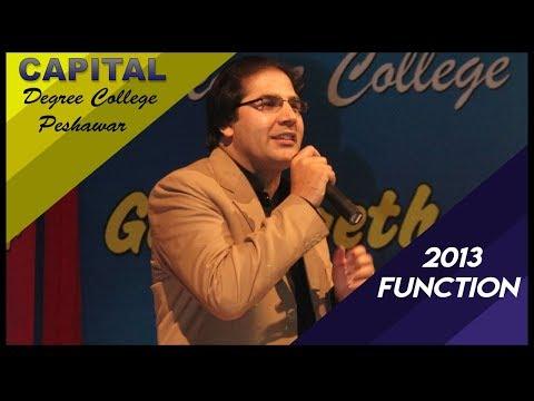Capital Function 2013 Karan Khan Sta Banra video