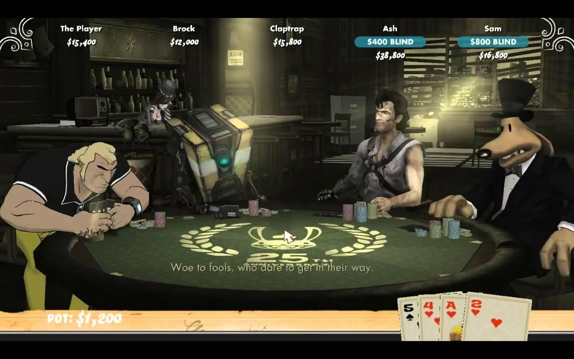 Poker Night 2 Cast Sings a